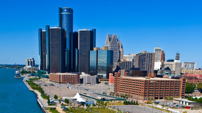 detroit third best city to live salary minus rent new study shows