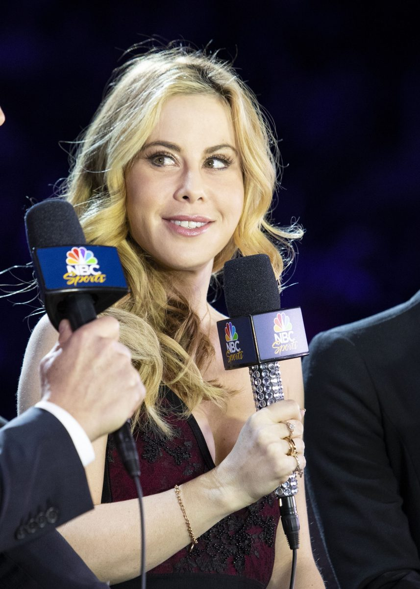 Tara Lipinski, former Olympic champion and color commentator for NBC Sports